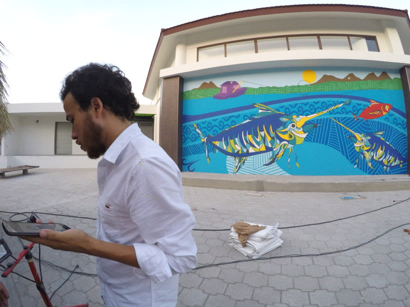 Mural Pampa Argentina,  Costa del Sol Nuevo proyecto 8