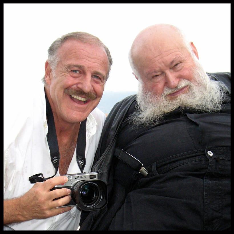 . Hermann Nitsch | Augusto De Luca . (Leica Digilux 2) -1