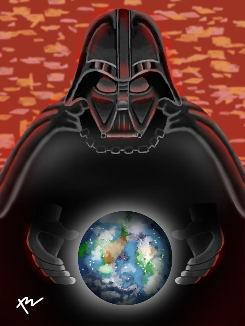 darth vader Fan art -1