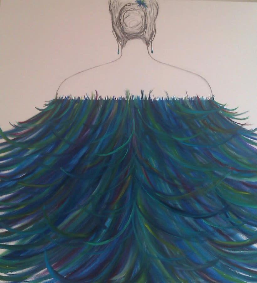 Mujer Azul -1