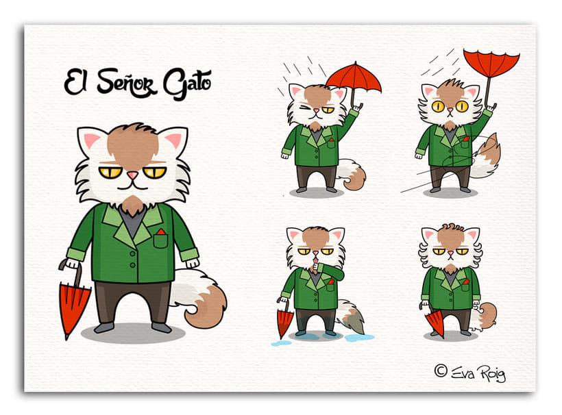 El Señor Gato - GIF 0