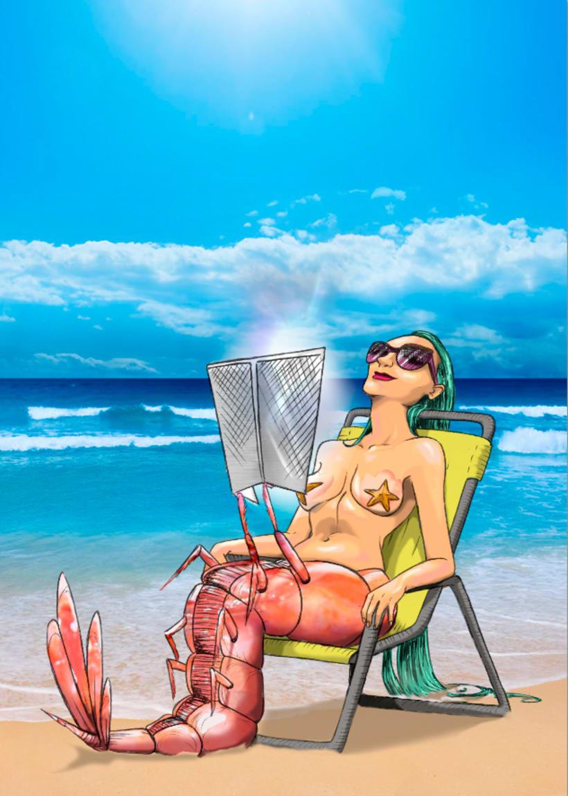 sirena gamba/ shrimpmaid  -1