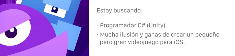 [Buscando] Programador Unity (videojuego para iOS) 0