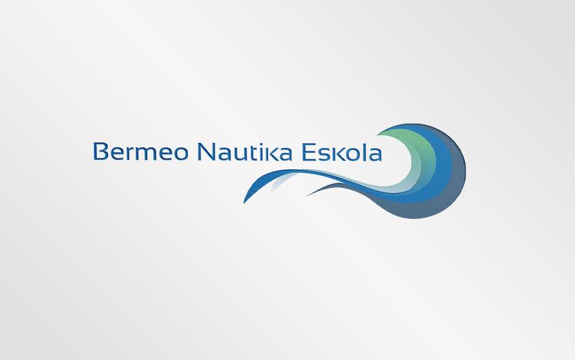 Rediseño de logotipo - Bermeo Nautika Eskola 0