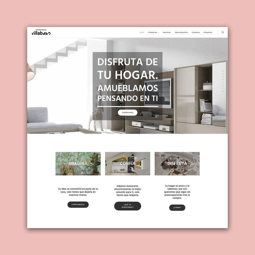 DISEÑO WEB - Expomuebles Villabaso 1