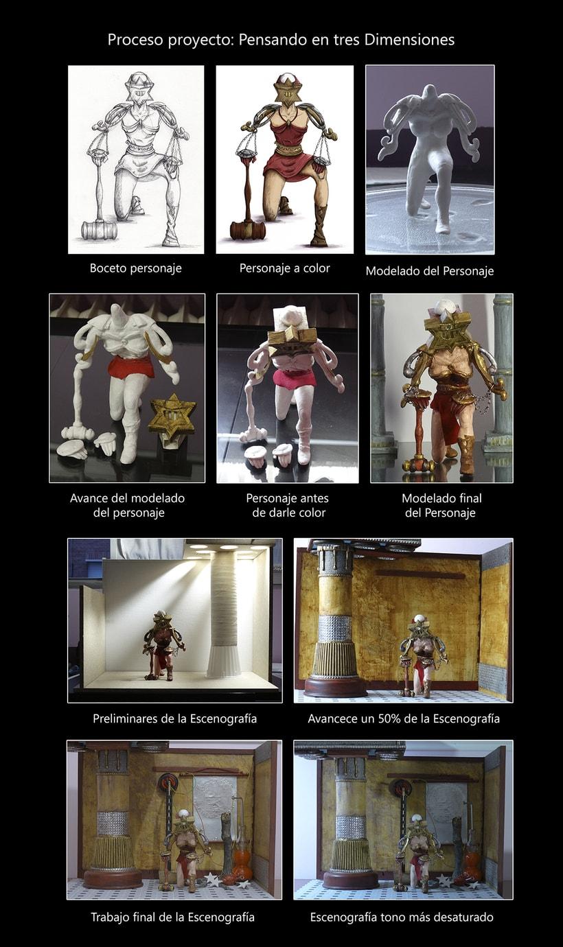 Mi Proyecto del curso: Diorama: Pensando en tres dimensiones 5