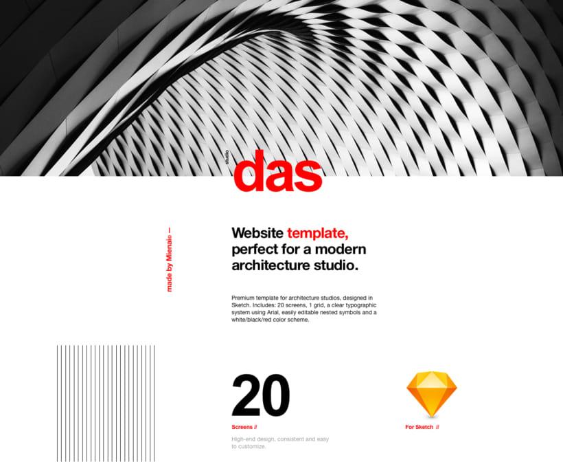 Das - Template Web de Arquitectura 1