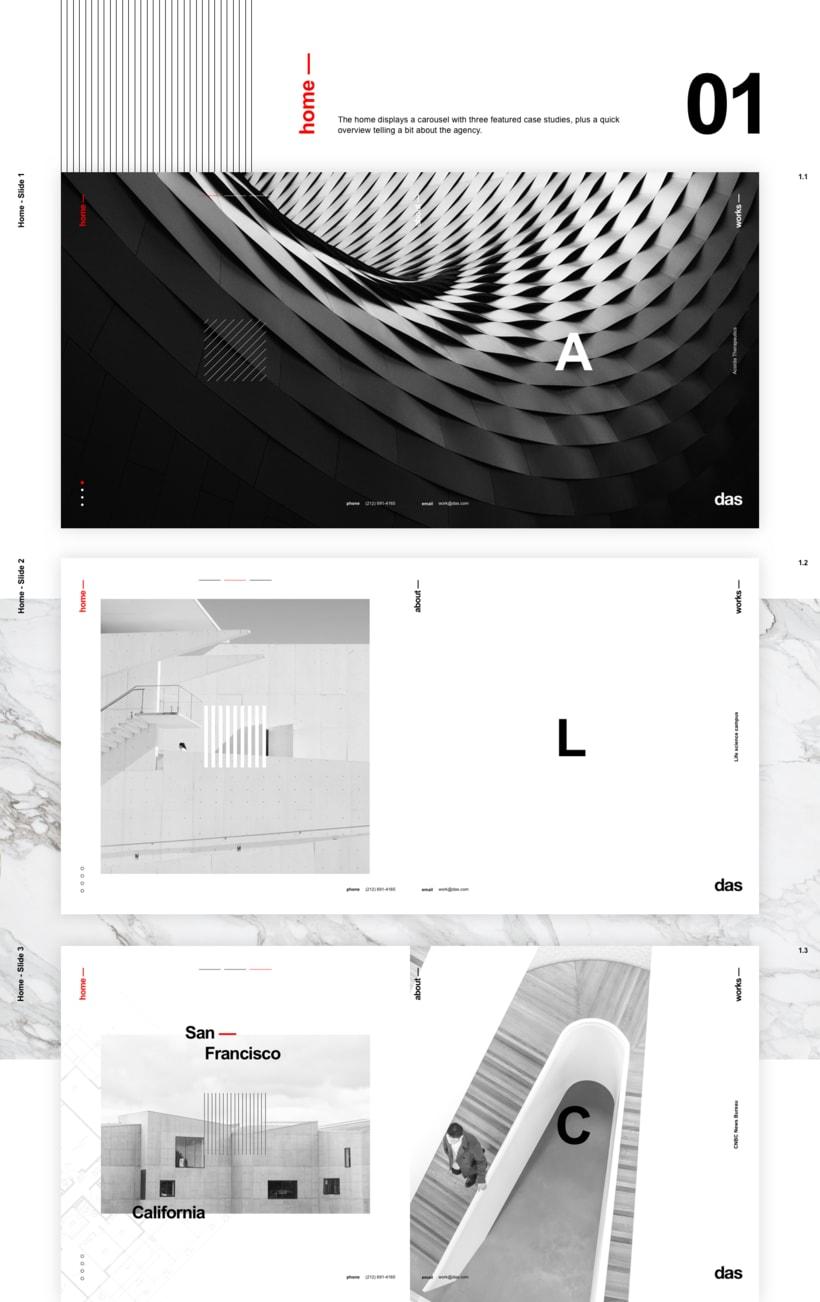 Das - Template Web de Arquitectura 3