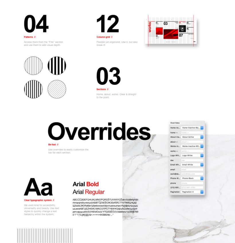 Das - Template Web de Arquitectura 2