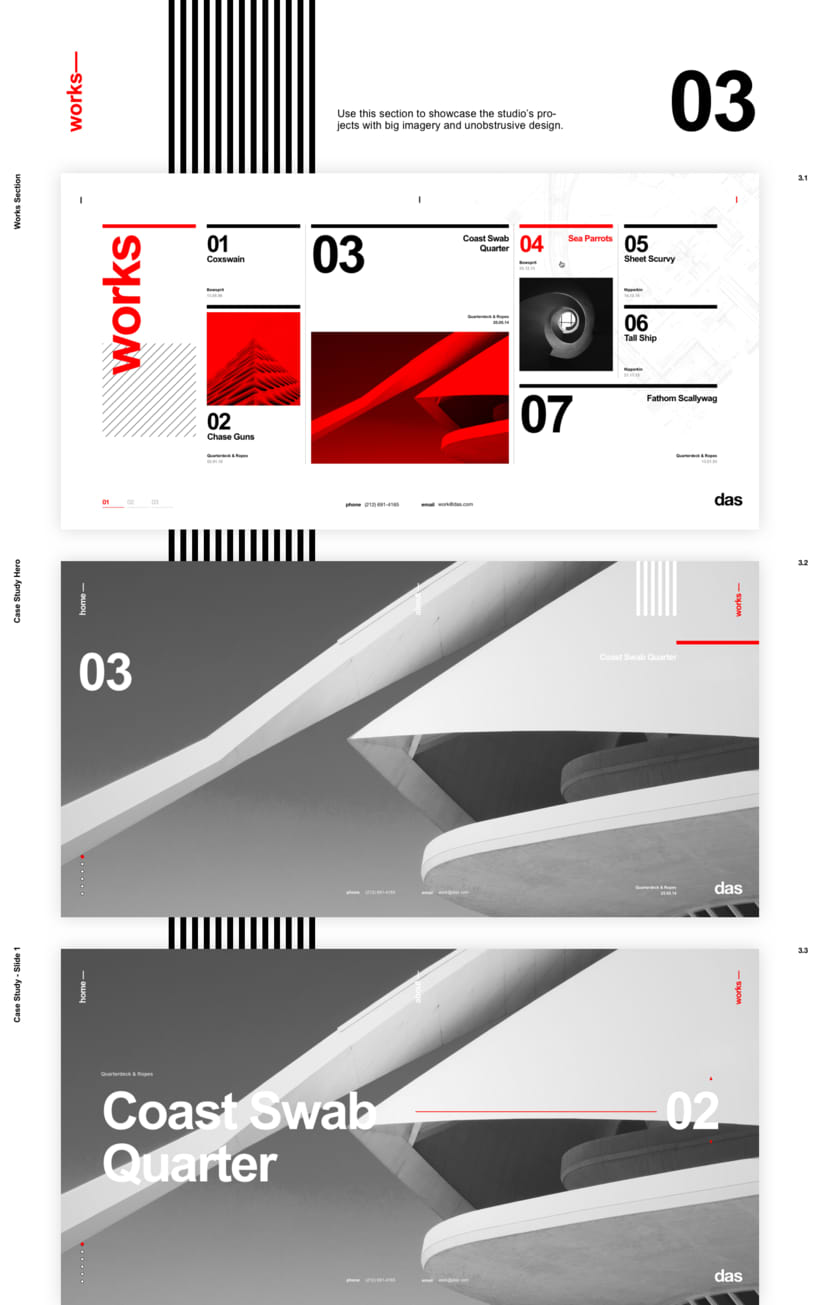Das - Template Web de Arquitectura 7