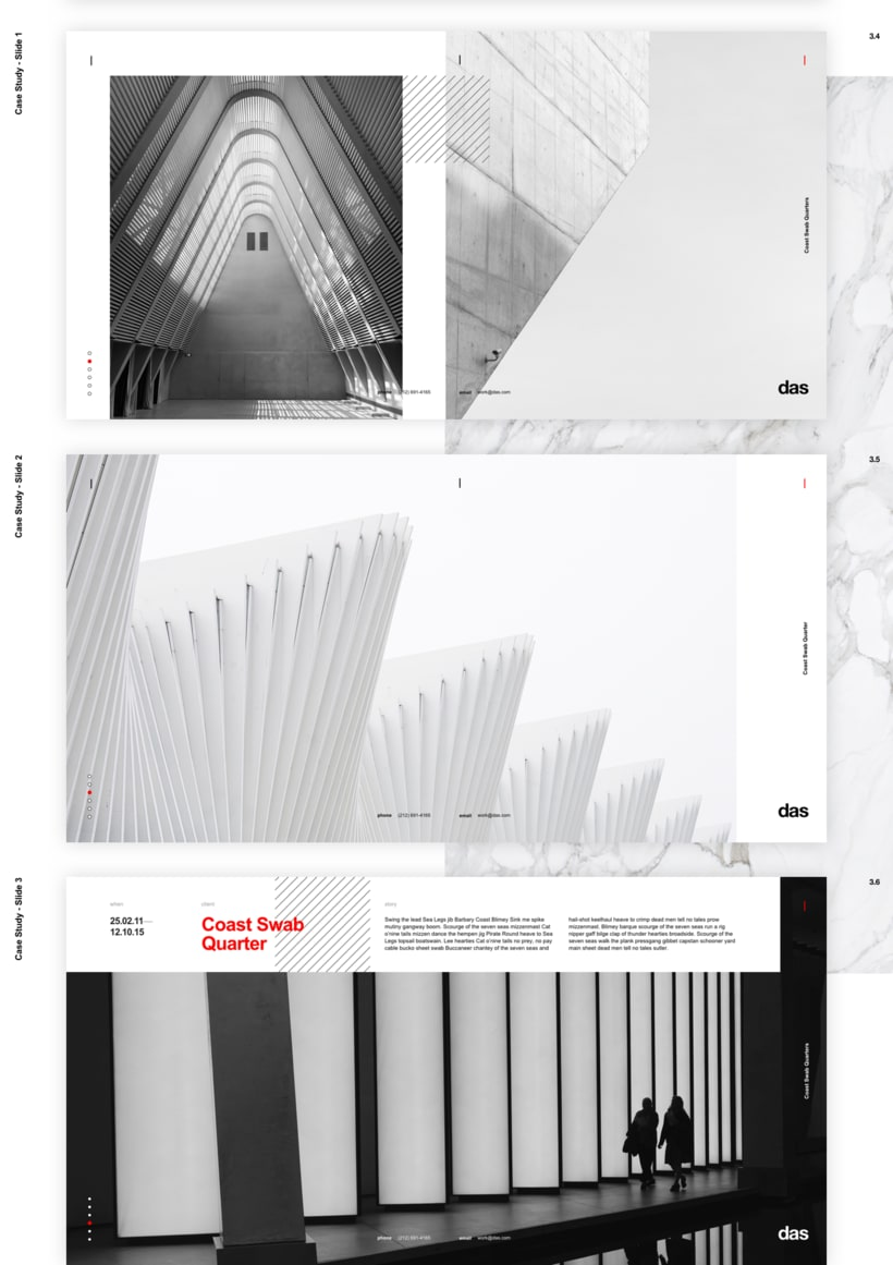 Das - Template Web de Arquitectura 8