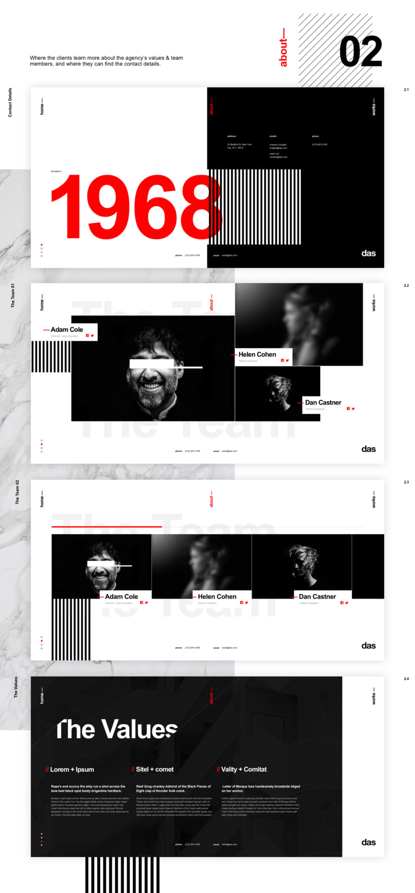 Das - Template Web de Arquitectura 6