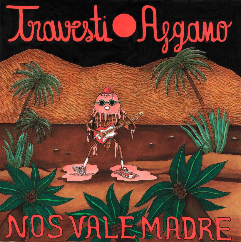 "Diseño album ""Nos vale madre"" de Travesti Afgano -1"