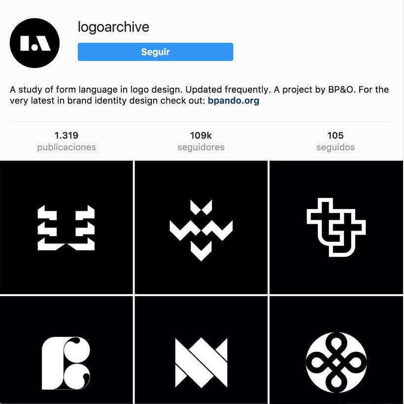 """10 perfiles de Instagram para """"logo-lovers"""" 2"""