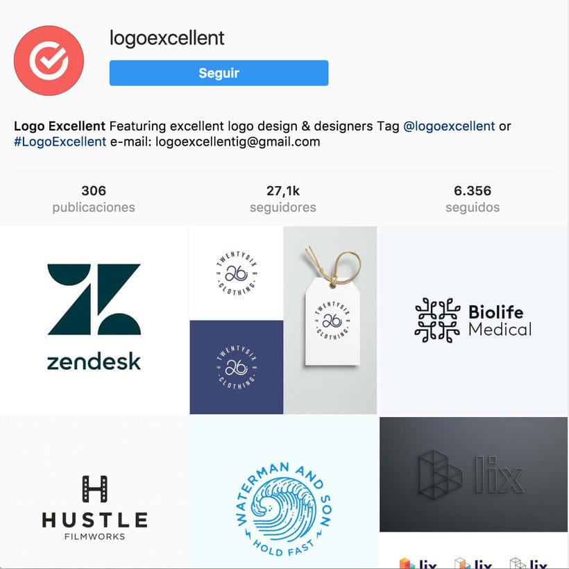 """10 perfiles de Instagram para """"logo-lovers"""" 10"""