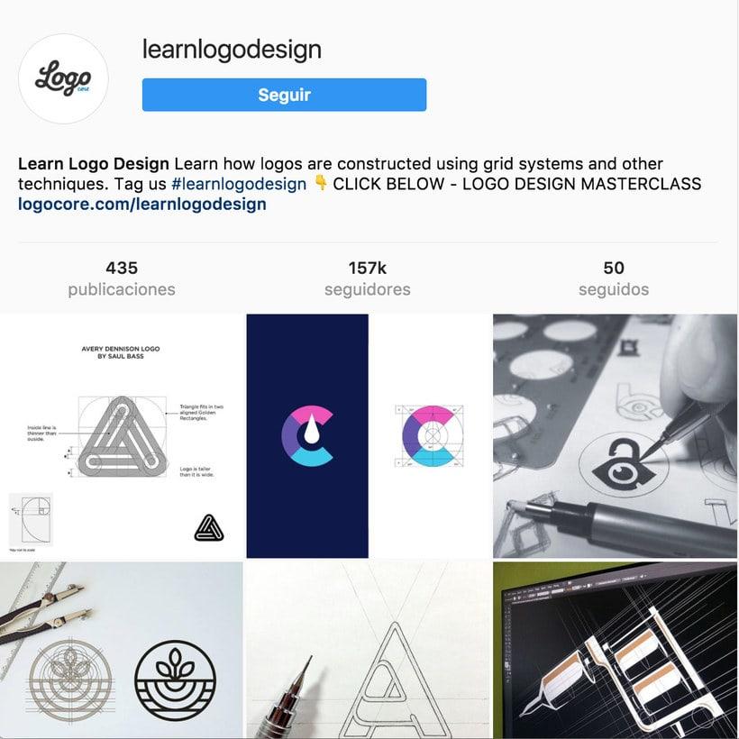 """10 perfiles de Instagram para """"logo-lovers"""" 16"""