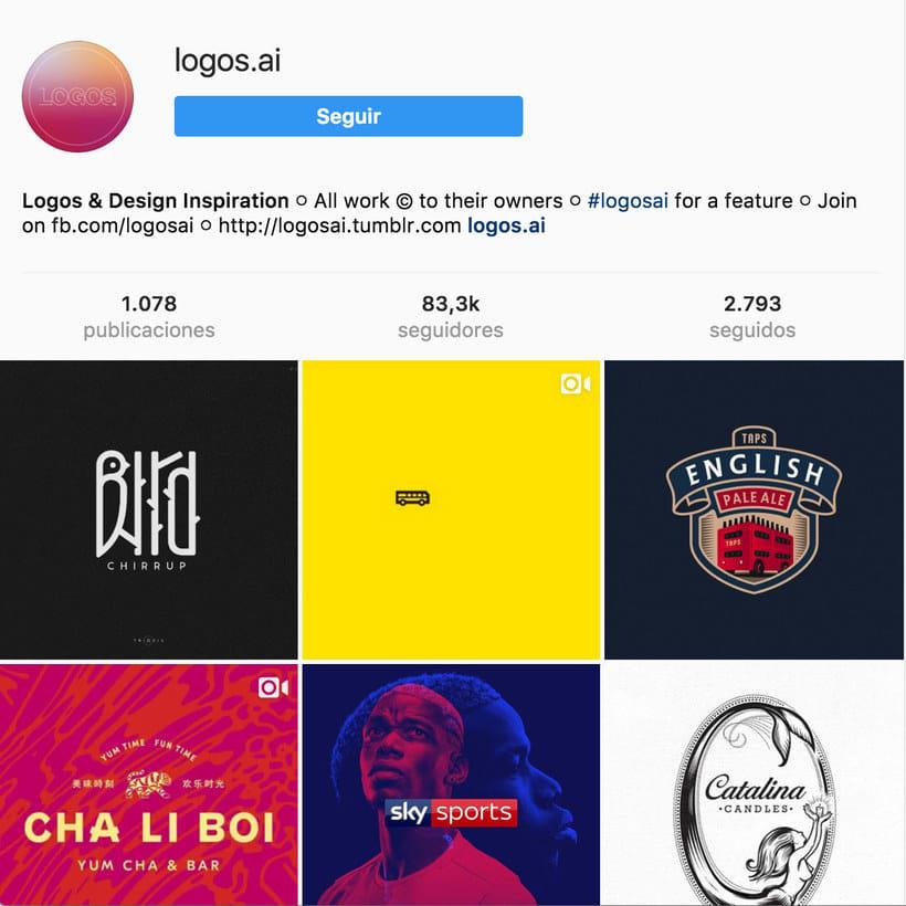 """10 perfiles de Instagram para """"logo-lovers"""" 18"""