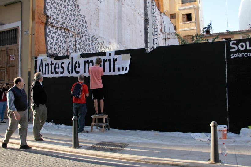 Before I die Wall Valencia -1