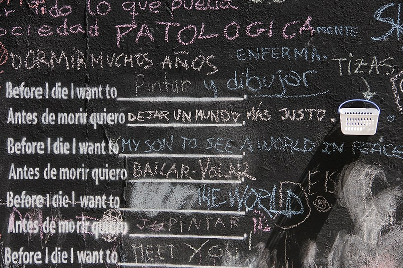 Before I die Wall Valencia 2