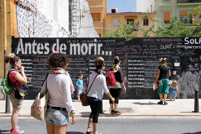 Before I die Wall Valencia 3