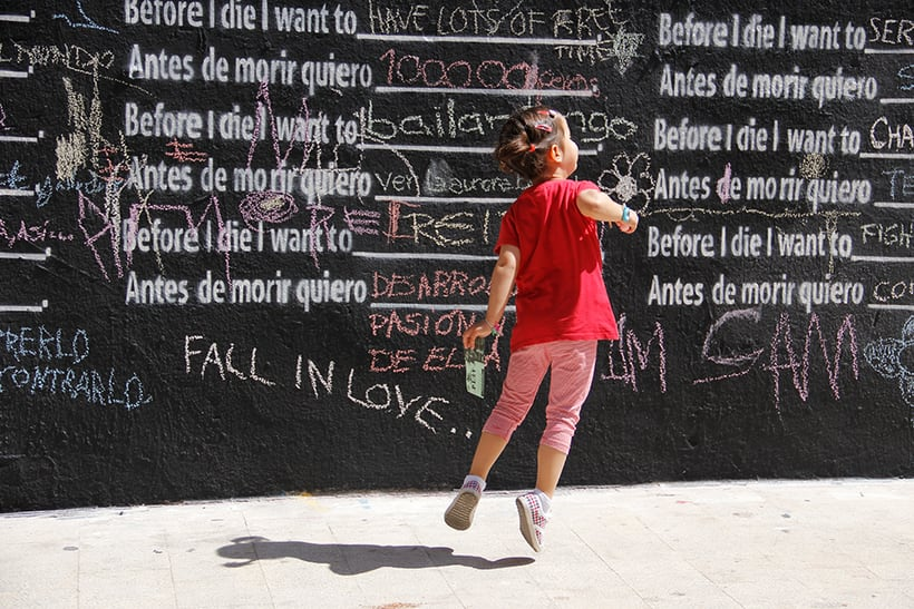 Before I die Wall Valencia 4