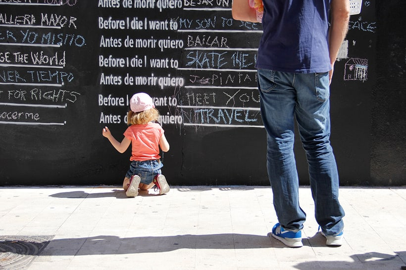 Before I die Wall Valencia 6