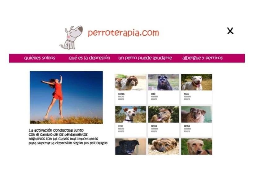 perroterapia.com ¿sabías que los perros pueden tener efectos terapéuticos sobre las  personas? 5