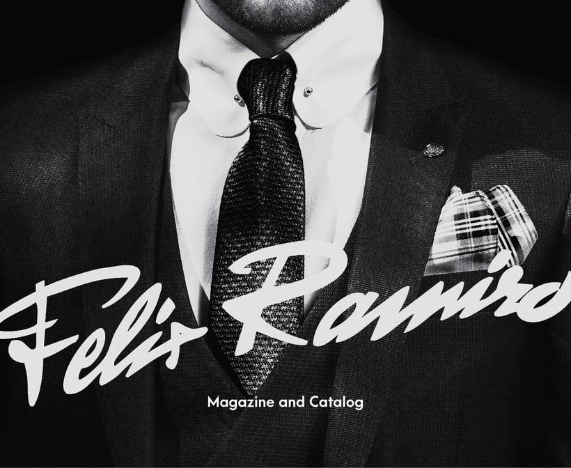 Felix Ramiro Magazine + New Logo 0
