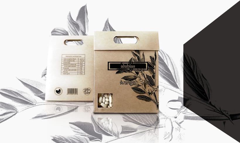 Packaging para marca de legumbres 1