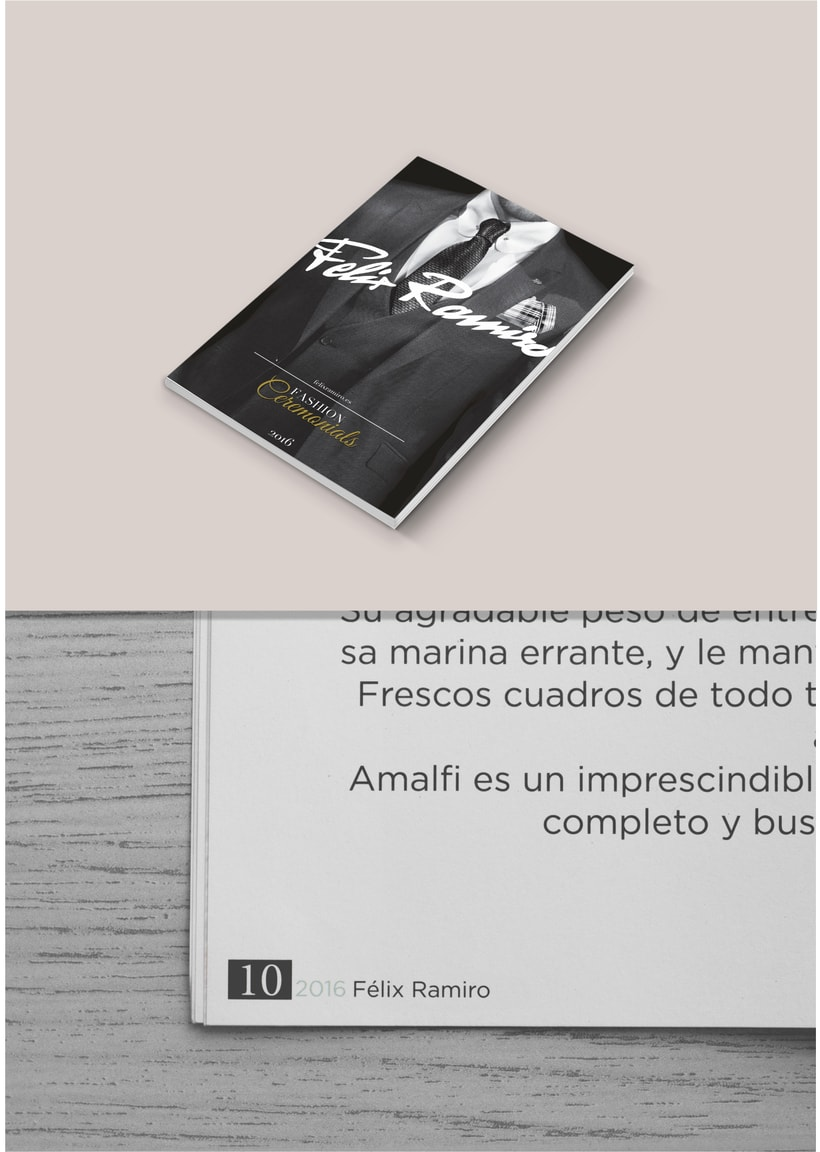 Felix Ramiro Magazine + New Logo 6
