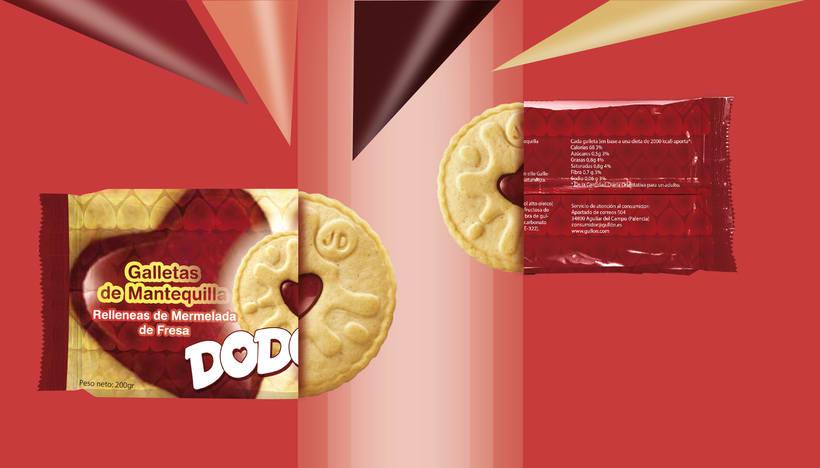 Packaging para marca de galletas -1