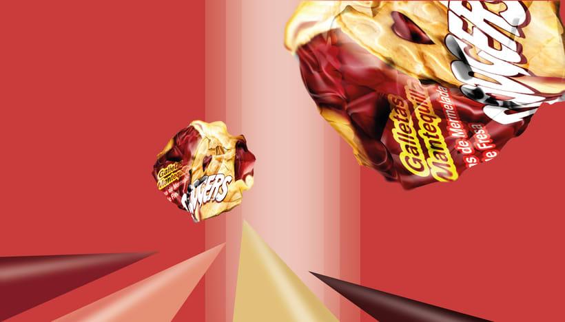 Packaging para marca de galletas 1