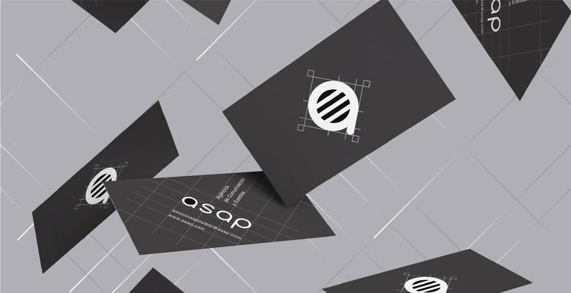 Identidad visual  para empresa de comunicación y eventos 1