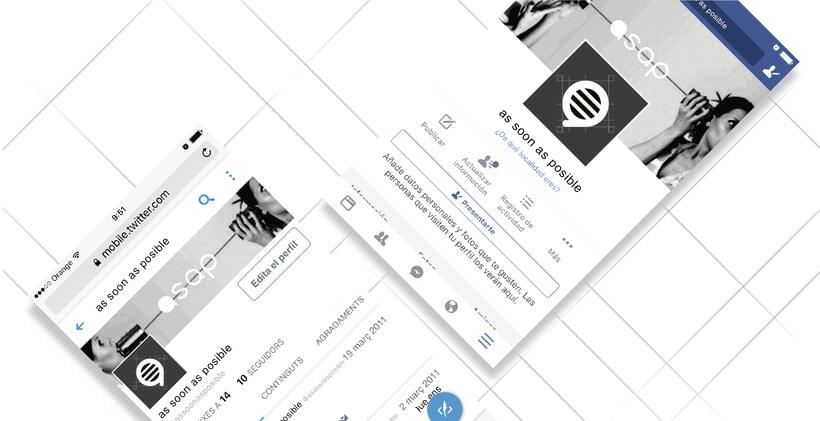 Identidad visual  para empresa de comunicación y eventos 2