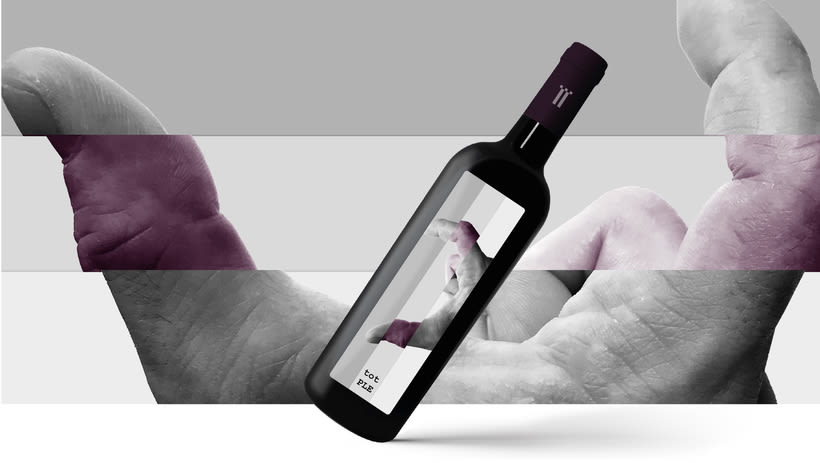 Etiquetas de para trilogía de vinos Castellroig -1