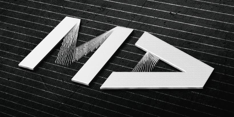 identidad visual para MA.design 0