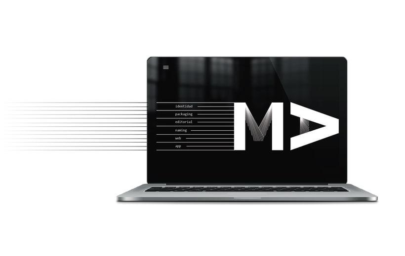 identidad visual para MA.design 3