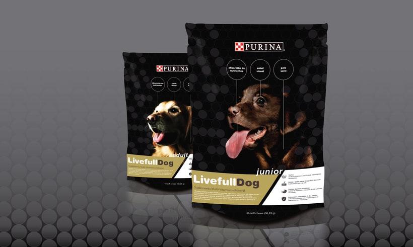 Packaging para comida de perros 0
