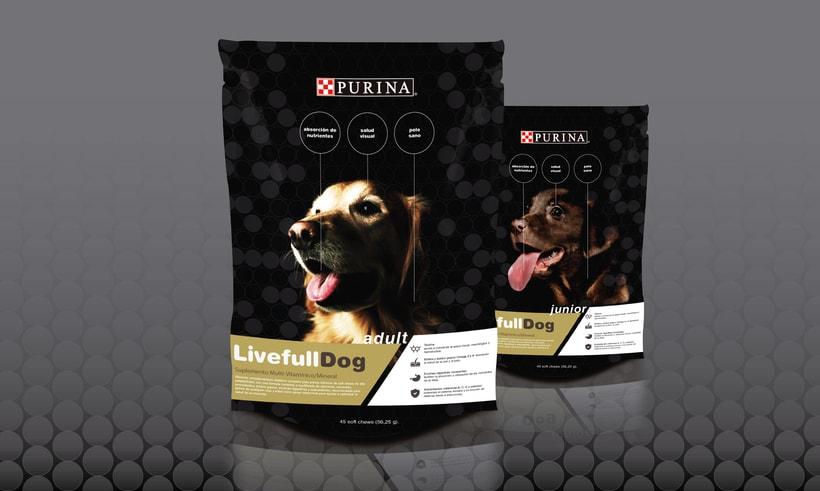 Packaging para comida de perros 1