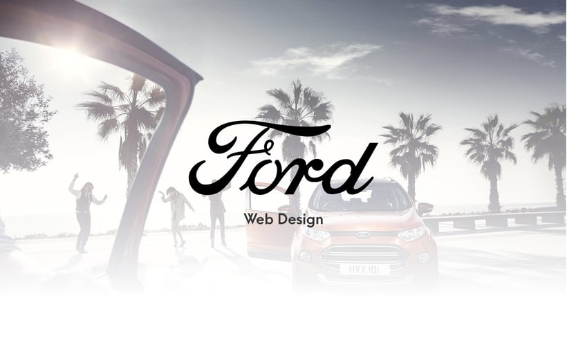 Ford - Web Design -1