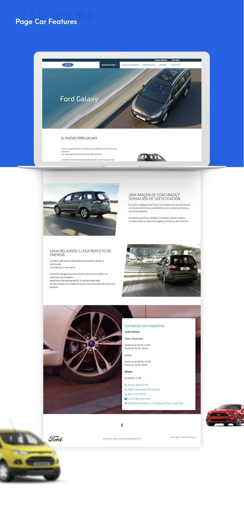 Ford - Web Design 0