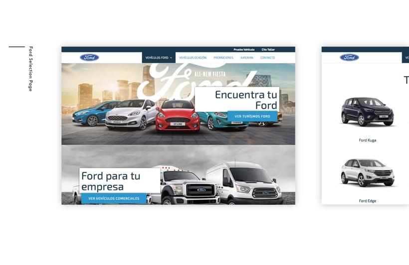 Ford - Web Design 1