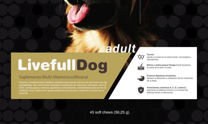 Packaging para comida de perros 3