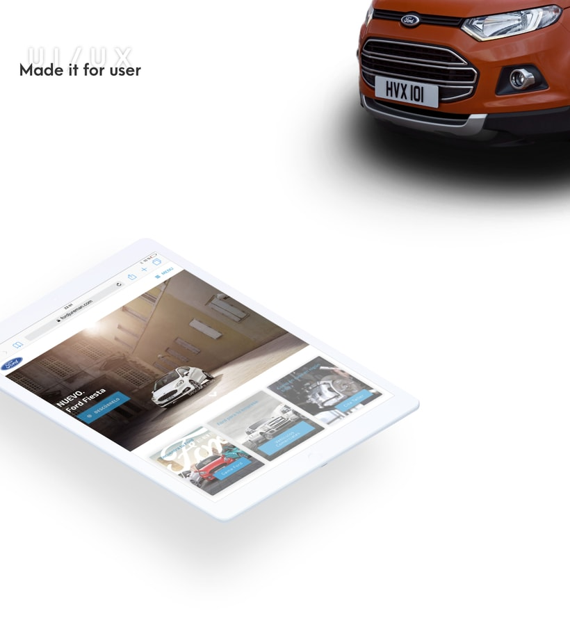 Ford - Web Design 3