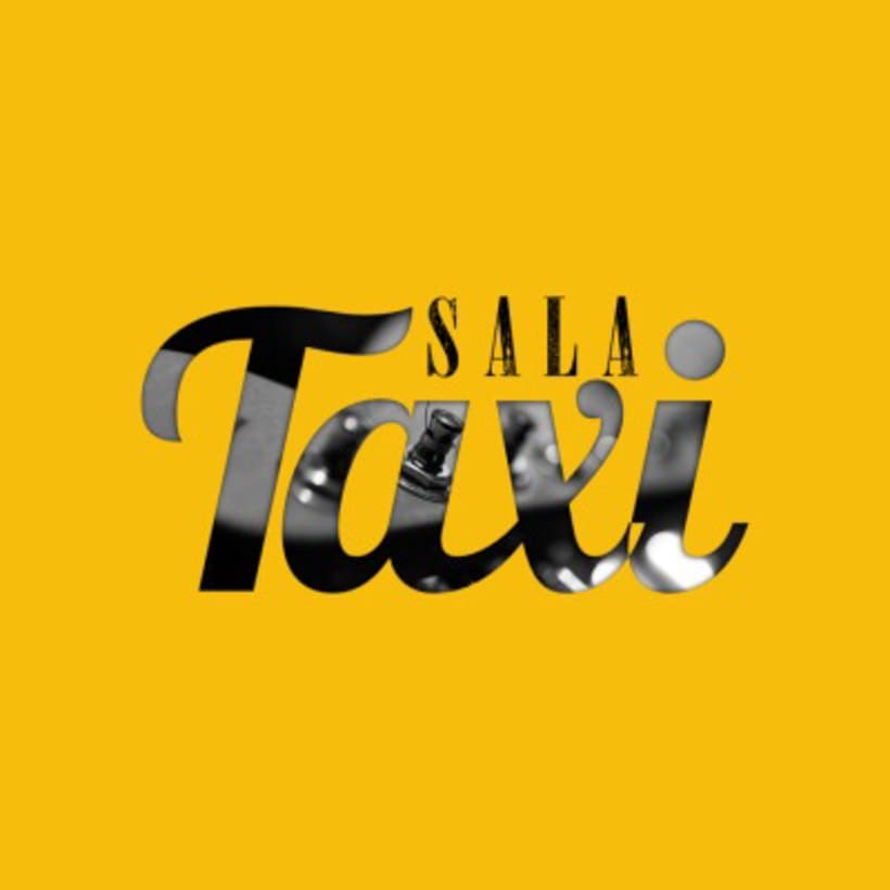 Sala Taxi - Poster + Logo 2