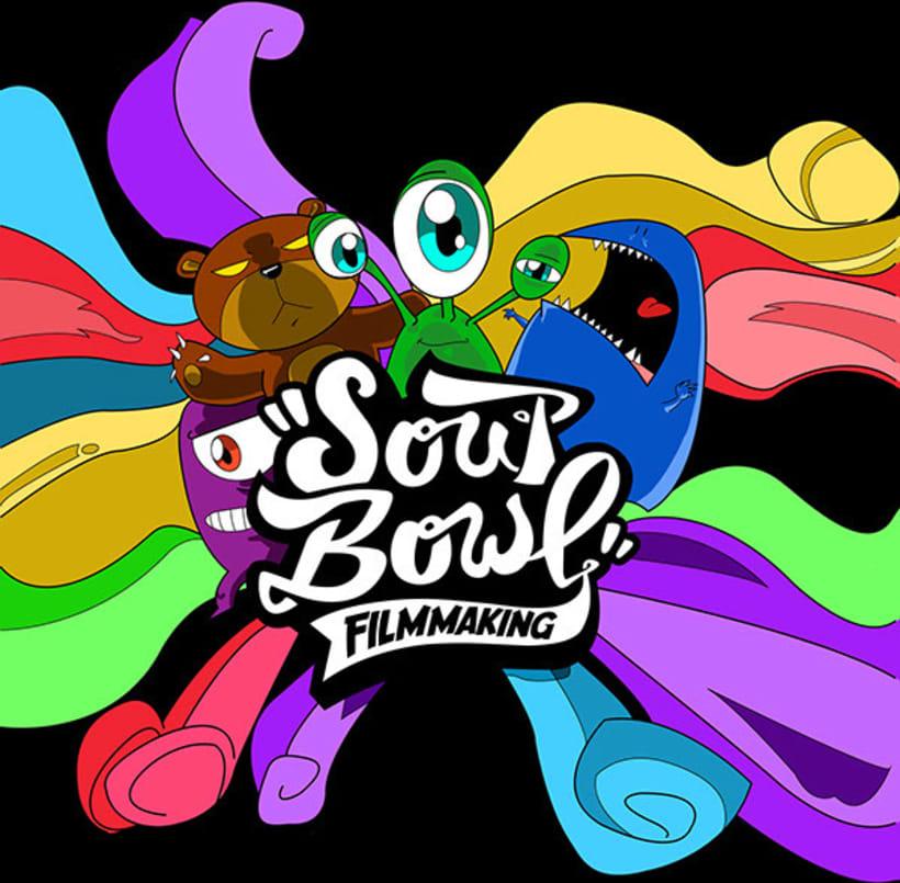 Ilustración para SoupBowl Filmmaking 3