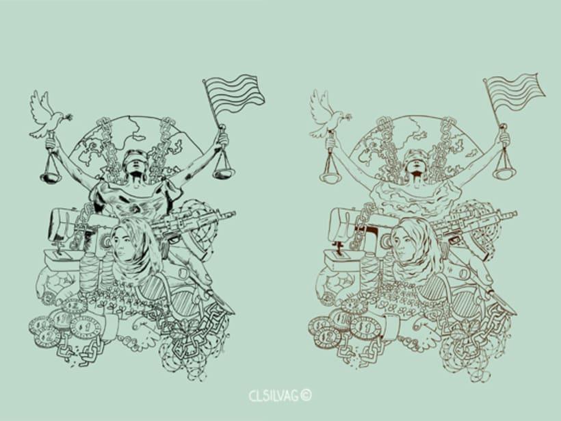 Mi Proyecto del curso: Técnicas de Ilustración y Composición Realista para Prensa - Cambio16 5