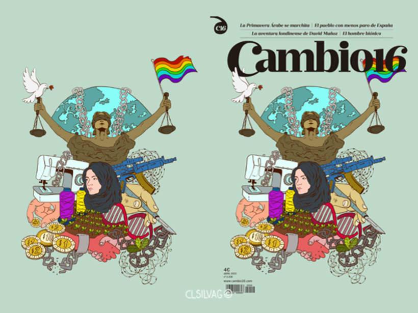 Mi Proyecto del curso: Técnicas de Ilustración y Composición Realista para Prensa - Cambio16 8