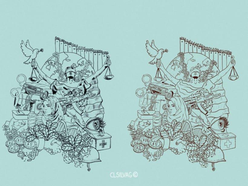 Mi Proyecto del curso: Técnicas de Ilustración y Composición Realista para Prensa - Cambio16 10