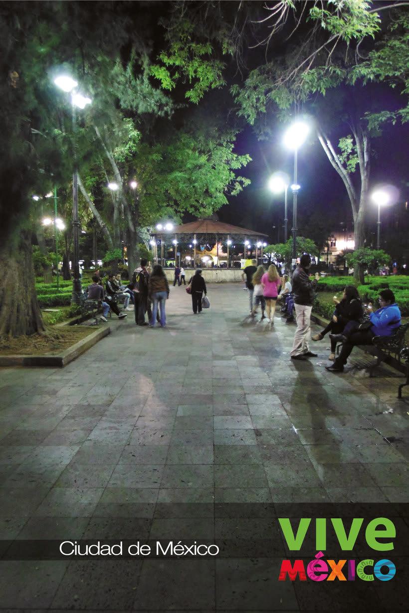 Cartel VIVE MÉXICO, Ciudad de México 0